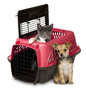 Petmate Two Door Top Load Kennel-dog christmas gifts-amazon